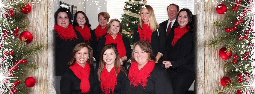 ECI Staff at Christmas