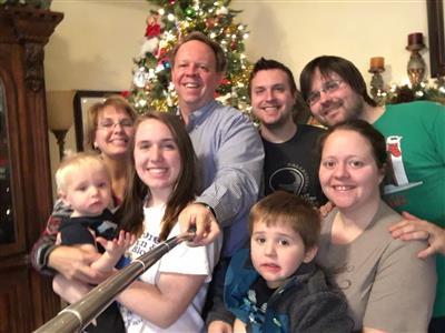 Scott's Family Selfie